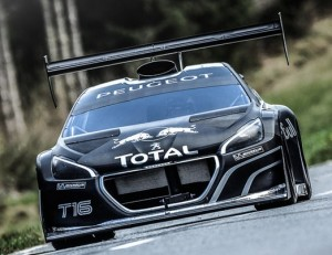 The fast and the furious: Loeb and the Peugeot 208 T16 Pikes Peak.