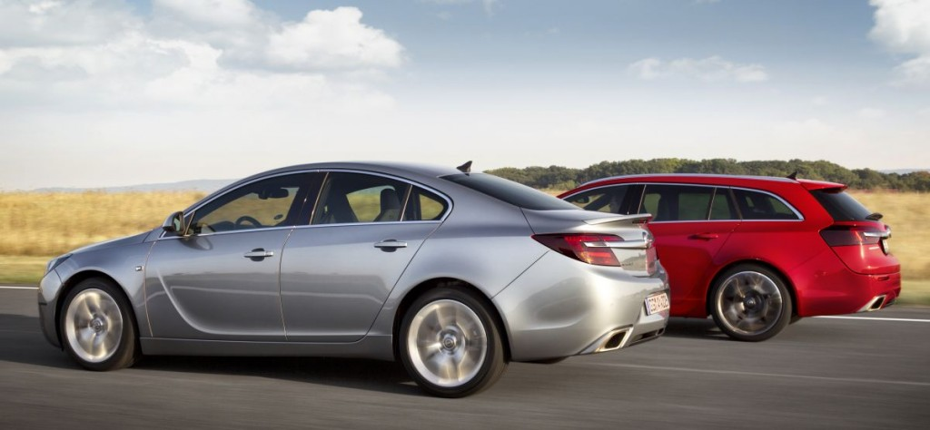 Insignia OPC as notchback and as hatchback.